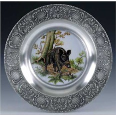 Настенная тарелка Кабан Artina