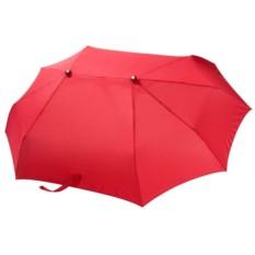 Красный зонт для двоих
