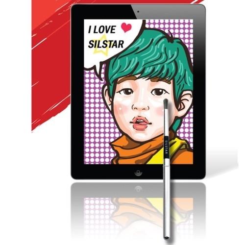 Кисть-стилус для планшета Silstar Artist Brush