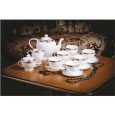 Чайный сервиз Золотая веточка