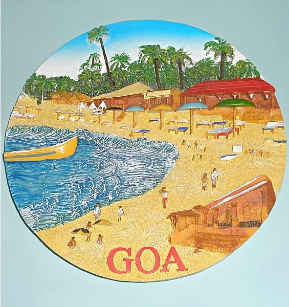 Сувенирная тарелка Гоа