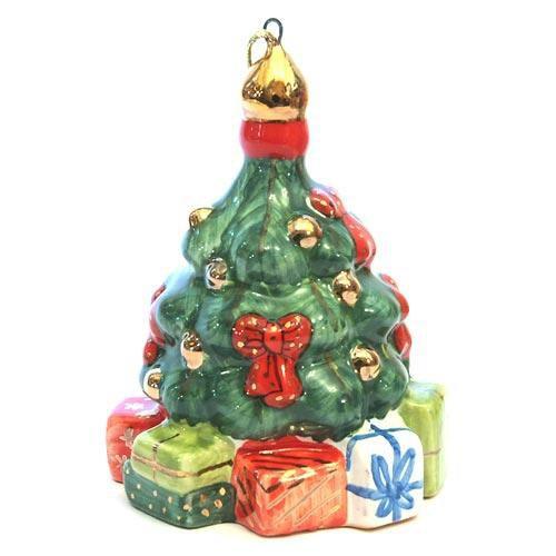 Елочная игрушка Ёлка с подарками