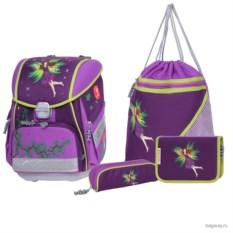 Фиолетовый Набор с ранцем Step by Step School