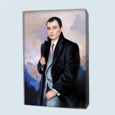 Портрет по фото на заказ близкому человеку (50x70 см)