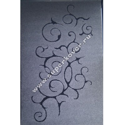 Турецкий ковер Супер шагги букле-цветок-2