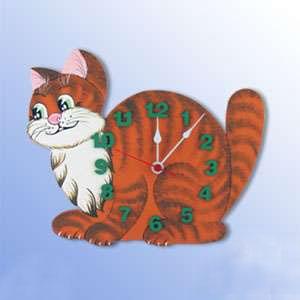 Часы  «Кошка»