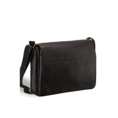 Вместительная кожаная сумка через плечо Brialdi Chieti