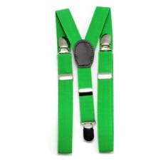 Детские подтяжки (зеленые)