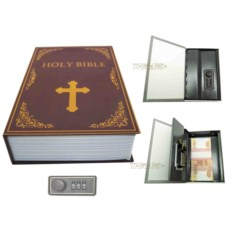 Книга-сейф с кодовым замком Bible