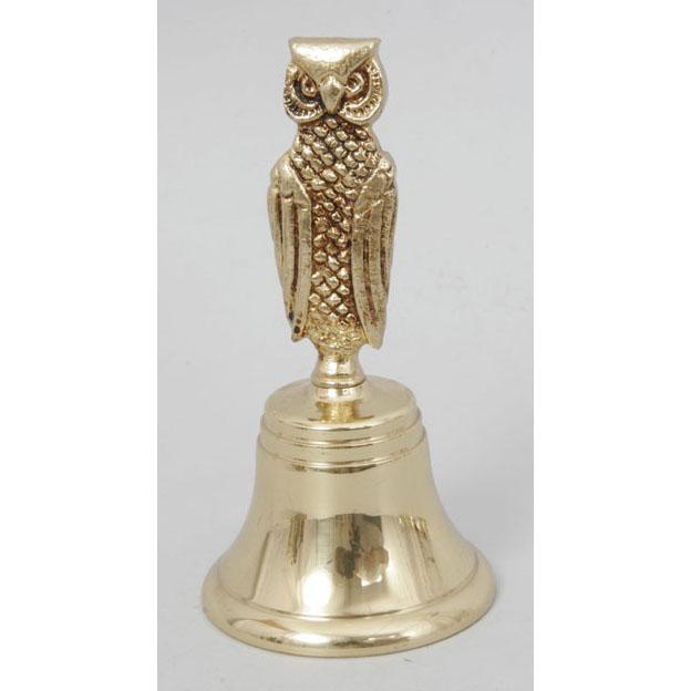 Колокольчик из бронзы Virtus «Сова»