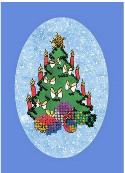 Набор для вышивания  Новый год. Елка