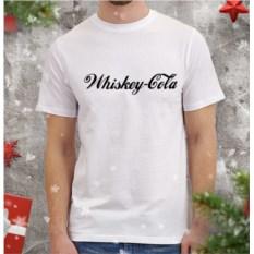Мужская футболка Виски-кола