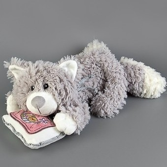 Мягкая игрушка Кошкин сон