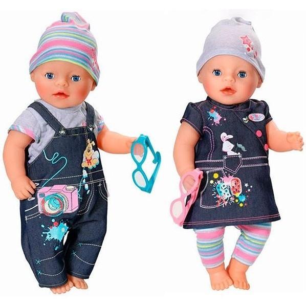 Джинсовая одежда для куклы Baby Born от Zapf Creation