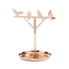 Подставка для колец Kikkerland Bird is the Word Copper