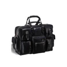 Деловая черная сумка для командировок Brialdi Norfolk
