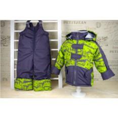 Детский комплект для осени из куртки и п/комбинезона