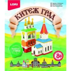 Набор для объемной лепки Китеж-град Церковь и колокольня