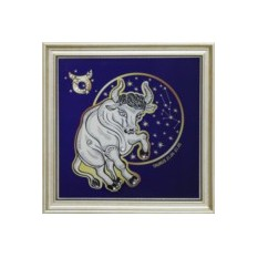 Картина с кристаллами Swarowski Звездный телец