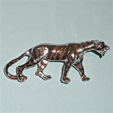 Винтажная брошь Тигр