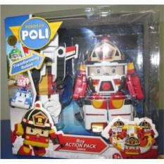 Машинка-трансформер Robocar Poli Рой