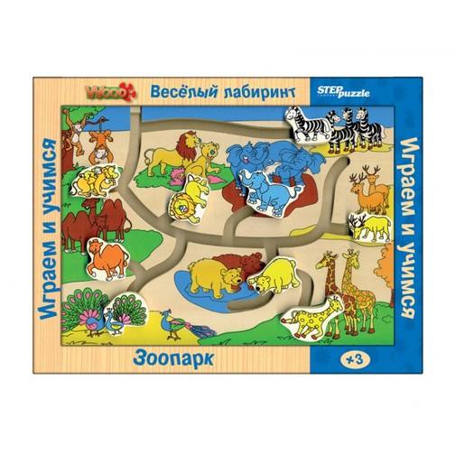 Детская игрушка Веселый лабиринт Зоопарк