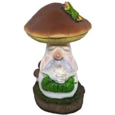 Декоративная фигурка для сада Боровик с куколкой