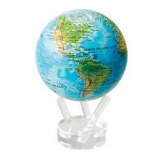 Глобус Общегеографическая карта