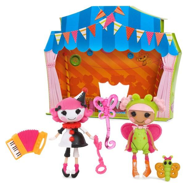 Игровой набор Lalaloopsy Mini Веселый мим и Цветочная фея