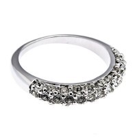 Кольцо с кристаллами Swarovski Дива