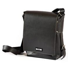 Мужская кожаная сумка с ремнем через плечо