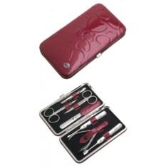 Маникюрный набор GD из 7 предметов (цвет — розовый)