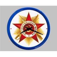 Настенные часы «Орден Отечественной войны»