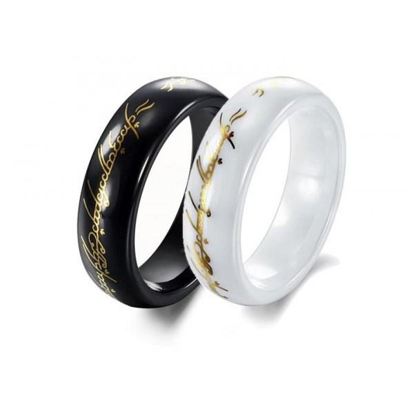 Кольцо Всевластия из керамики