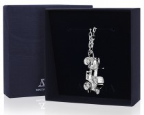 Серебряный брелок для ключей «Кабриолет»