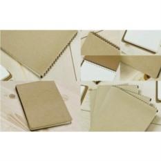 Большой картонный  блокнот на пружине