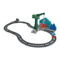 Игровой набор Томас и подъемный кран Крэнки