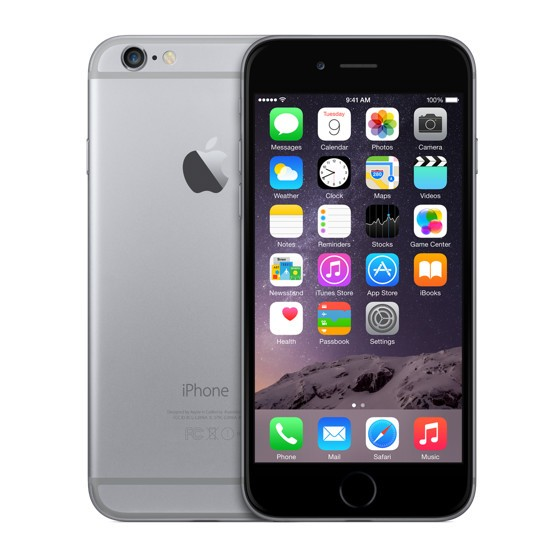 Apple iPhone 6 Plus 16Gb (Black&Space Gray)