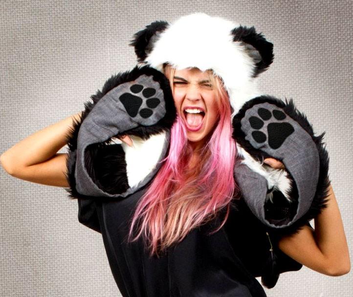 Волкошапка Панда