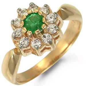 Кольцо «Вальс цветов»
