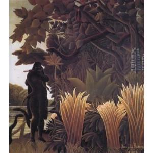 Репродукция картины Заклинательница змей