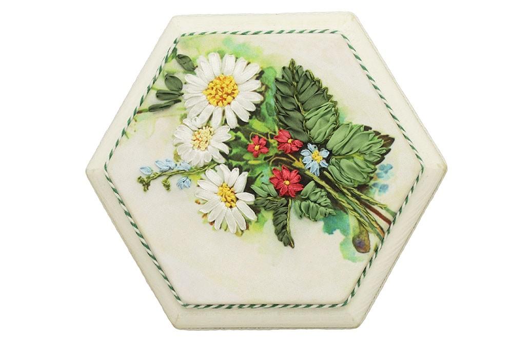 Шкатулка для украшений Полевые цветы