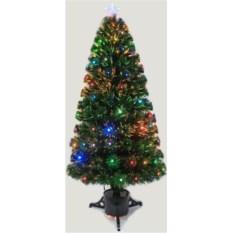 Оптоволоконная искусственная елка со светодиодами