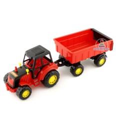 Игрушка «Трактор с прицепом №1»