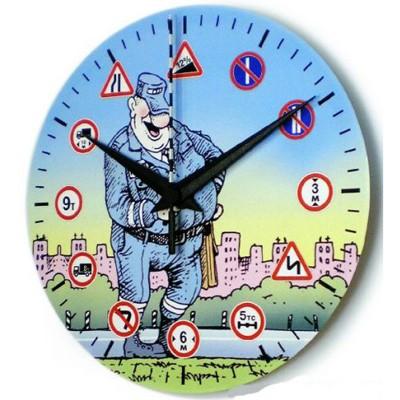 Часы ГИБДД