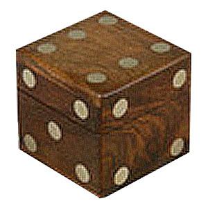 Кости (деревянный кубик)