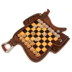 Игра настольная Шашки, размер 29 х 39 см