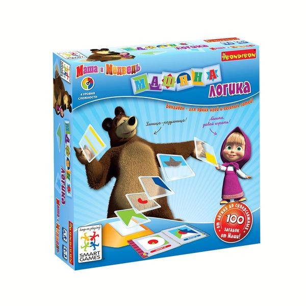 Логическая игра Маша и Медведь
