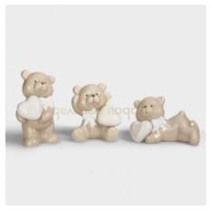 Набор из 3 миниатюр Плюшевые мишки