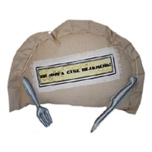 Прикольная подушка «Пельмень»